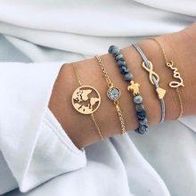 DIEZI Bohemian  Turtle Charm Bracelet Bangle For Women from CB