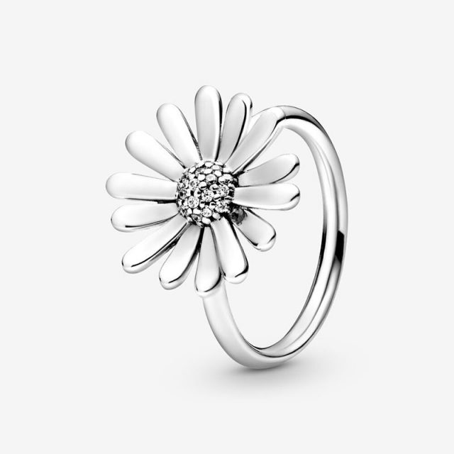 CodeMonkey 100% 925 Sterling Silver Rings Wholesale Popular Flower Lucky Rings For Women Jewelry Making Dorpshipping R7220