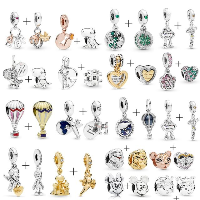 Today's Charms - Simba, Rotating Earth, Dinosaur and more for Pandora Bracelet from CharmsandBracelets